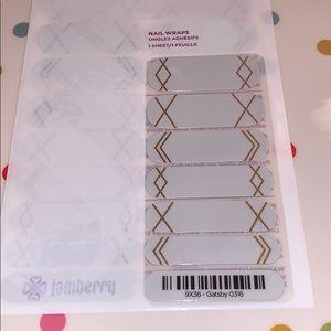 Jamberry wrap- Gatsby